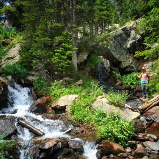 This entire hike was a series of waterfalls. Each more magical than the last :-)