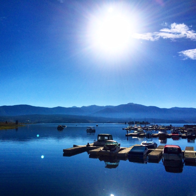 Early morning Lake Granby