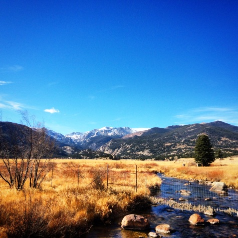 Driving out of RMNP